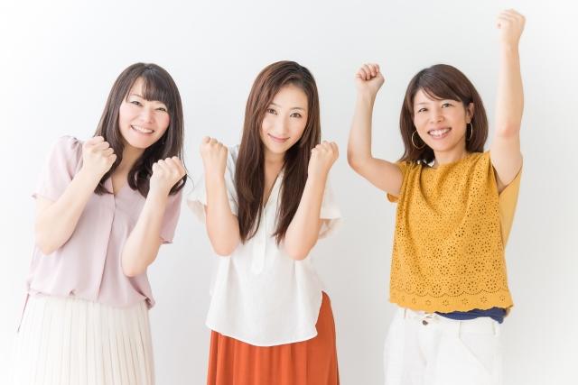 女性3人組