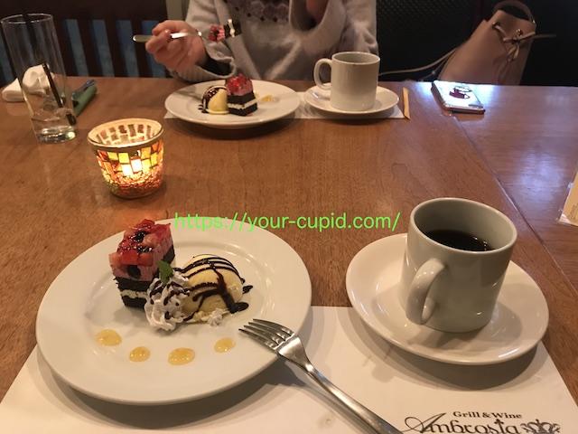 YKちゃんと食べたクリスマスケーキ