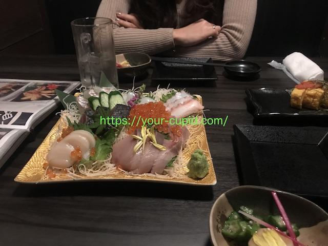 僕とKちゃんの食事デート風景