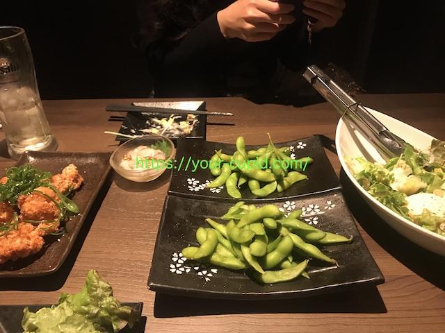 HMちゃんと食事デート中