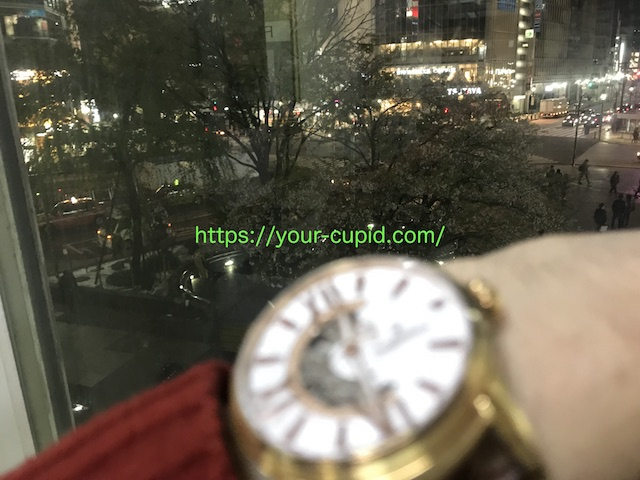 渋谷駅に到着する僕